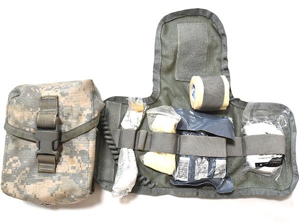 米軍実物 IFAK ACU ファーストエイドキット ポーチ セット 陸軍